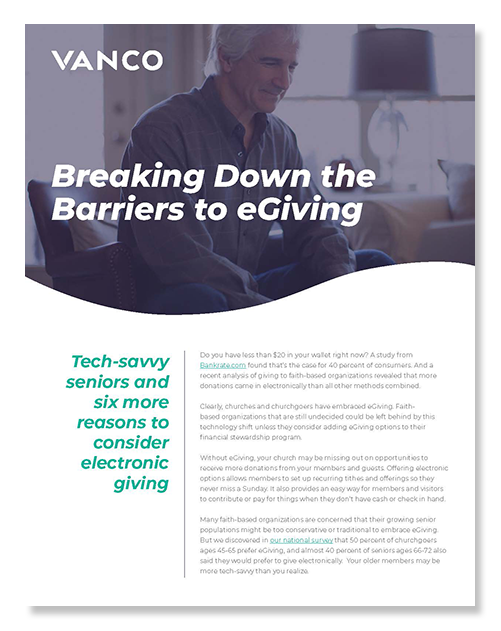 7 Ways to Break Down the Barriers of Church eGiving Guide