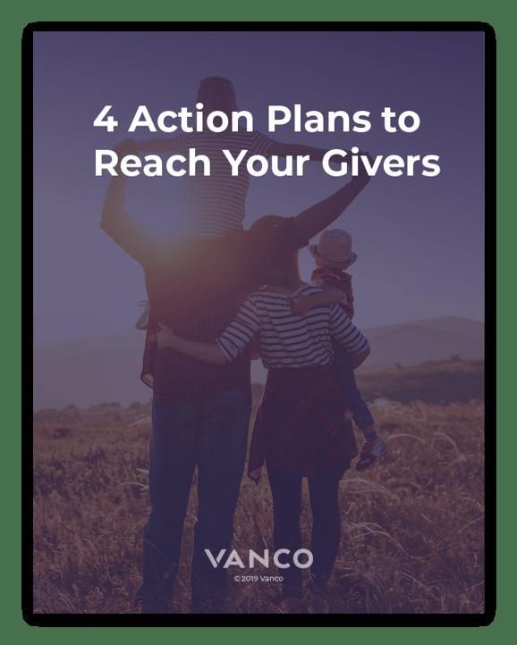 4 Action Plans for Church eGiving eBook LP cover