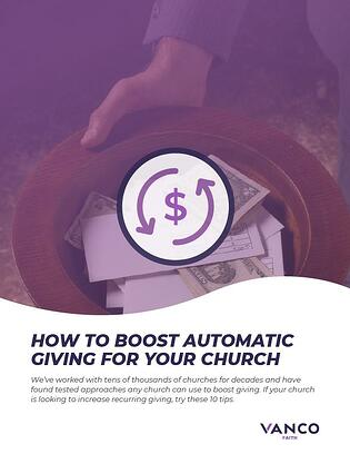 Automatic Recurring Giving for Churches Resource Cover