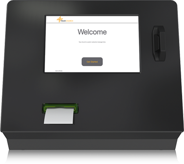 Church Credit Card Offering Kiosk