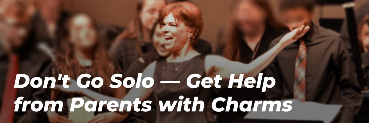 Don't Go Solo - Get Help from Parents with Charms