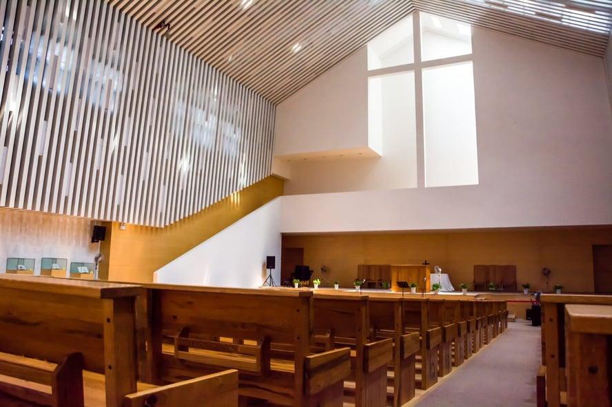Church Building Campaign Blog Post - Interior of Sanctuary