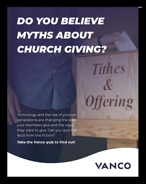 Church Giving Myths Debunked eGiving Guide