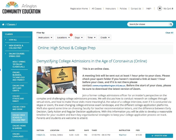 Community Education Arlington