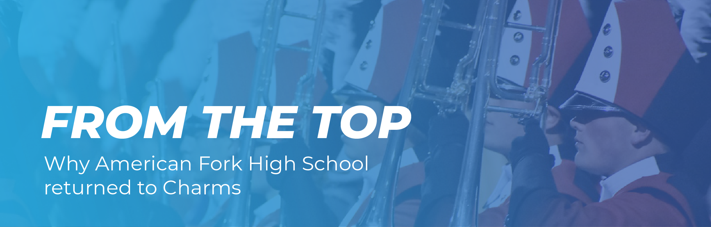 From the Top: Why American Fork High School returned to Charms
