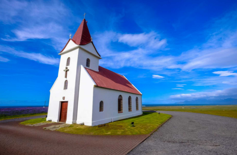 How to Sell Advertising in the Church Bulletin Blog - Lonely chapel in country