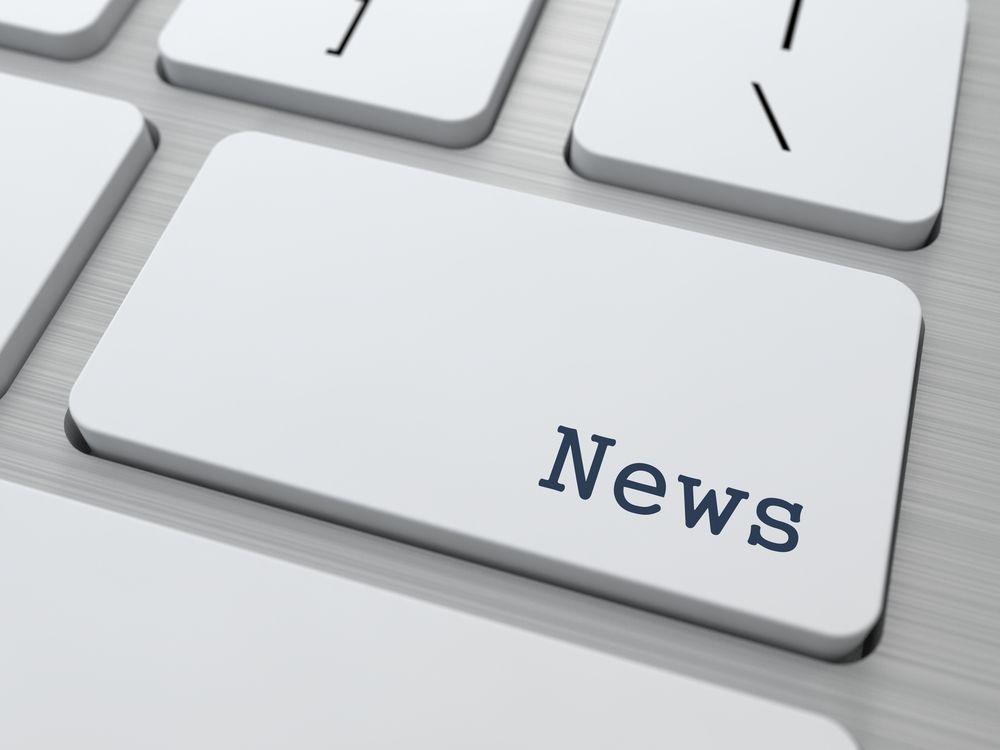 News Button on Keyboard - Church Newsletter Guide
