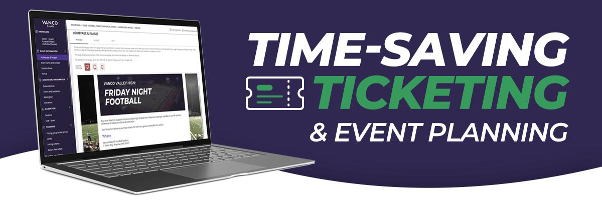 Time-Saving Ticketing& Event Planning