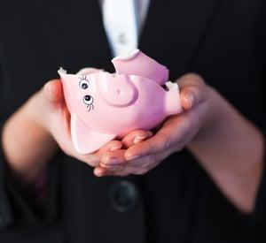 Broken Piggy Bank - Cashless Campus