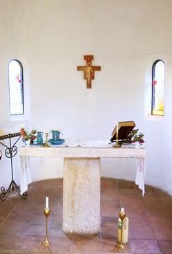 altar in a chapel-Church Stewardship Blog