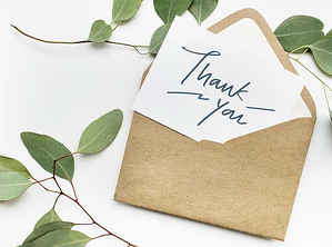 Thank You Letter for Church Financial Support Blog Image