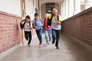 The Perfect School Registration System Image - Kids Running
