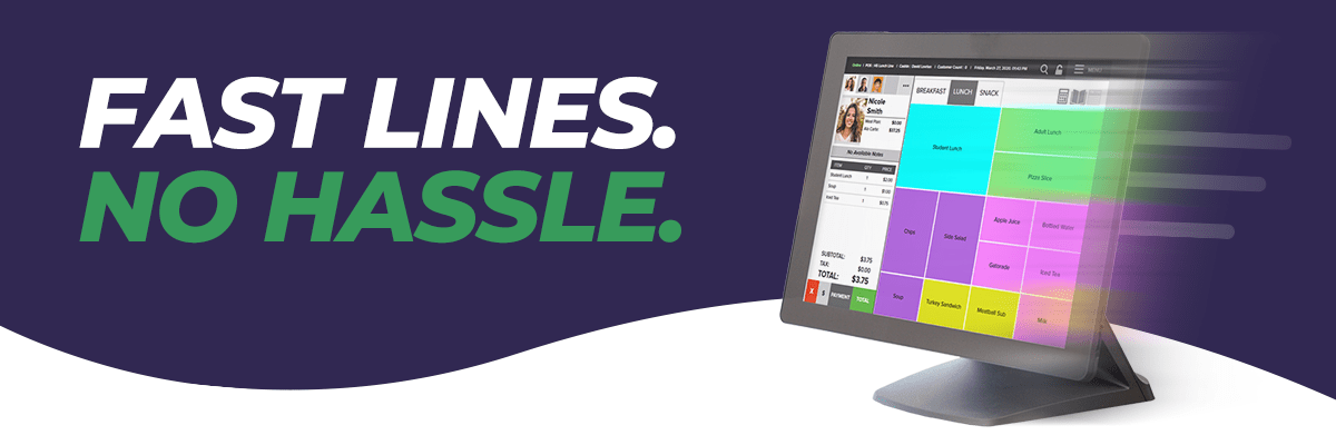 Fast Lines. No Hassle.
