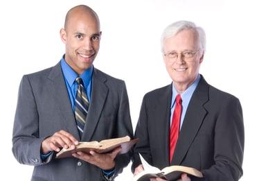Pastor with an Executive Pastor