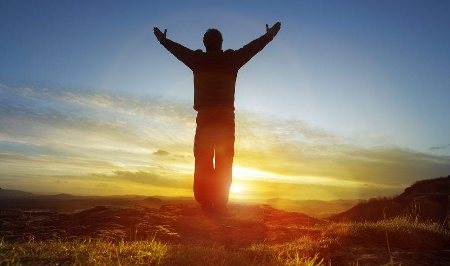 Man Displaying the Theology of Stewardship
