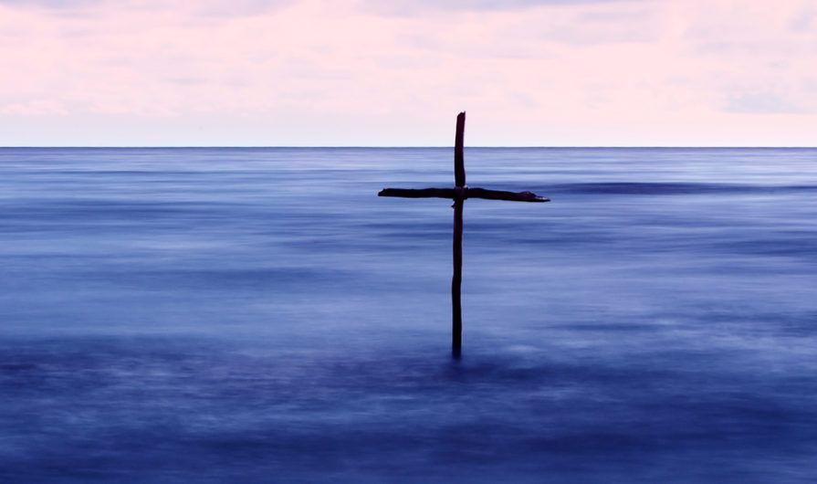 Cross in Mist - Theology of Stewardship