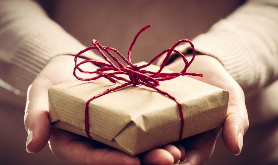 Theology of Stewardship: Package with Ribbon