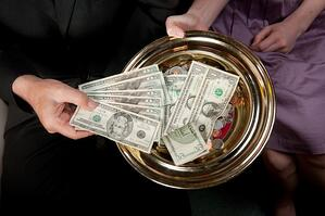 A Church Donation Plate That eGiving is Going to Change