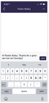 Church Directory App Screenshot 3