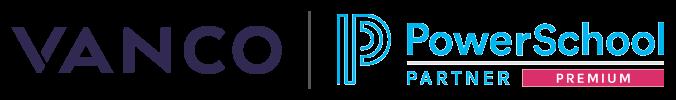 Vanco and PowerSchool Logos
