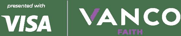Visa and Vanco Faith Logos